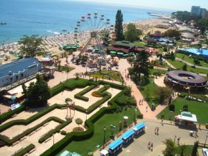 Holiday to Golden Sands with family